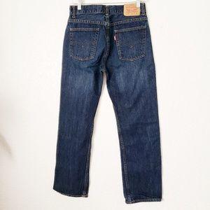 Levi's 18 Slim 27/29 Straight Leg Dark Wash Jeans